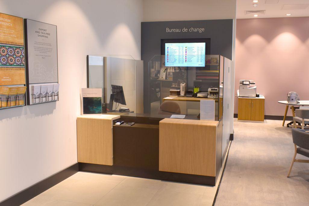 John Lewis Westfield - Bureau de Change manufactured by Aspen Concepts Ltd