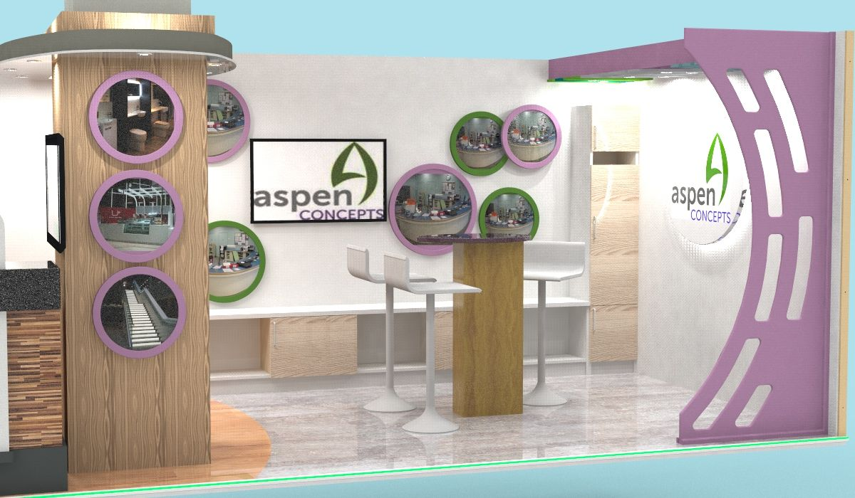 Exhibition Stand Layout Design : Display stand layout aspen view aspen concepts