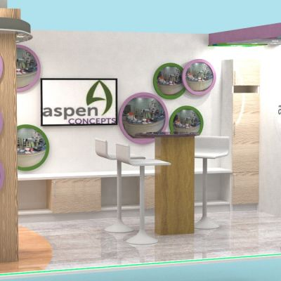 Aspen Concepts Retail Design Exhibition stand design 2017