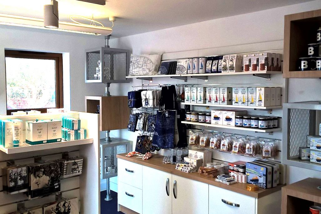 RNLI Shop retail interior designed, installed and manufactured by Aspen Concepts