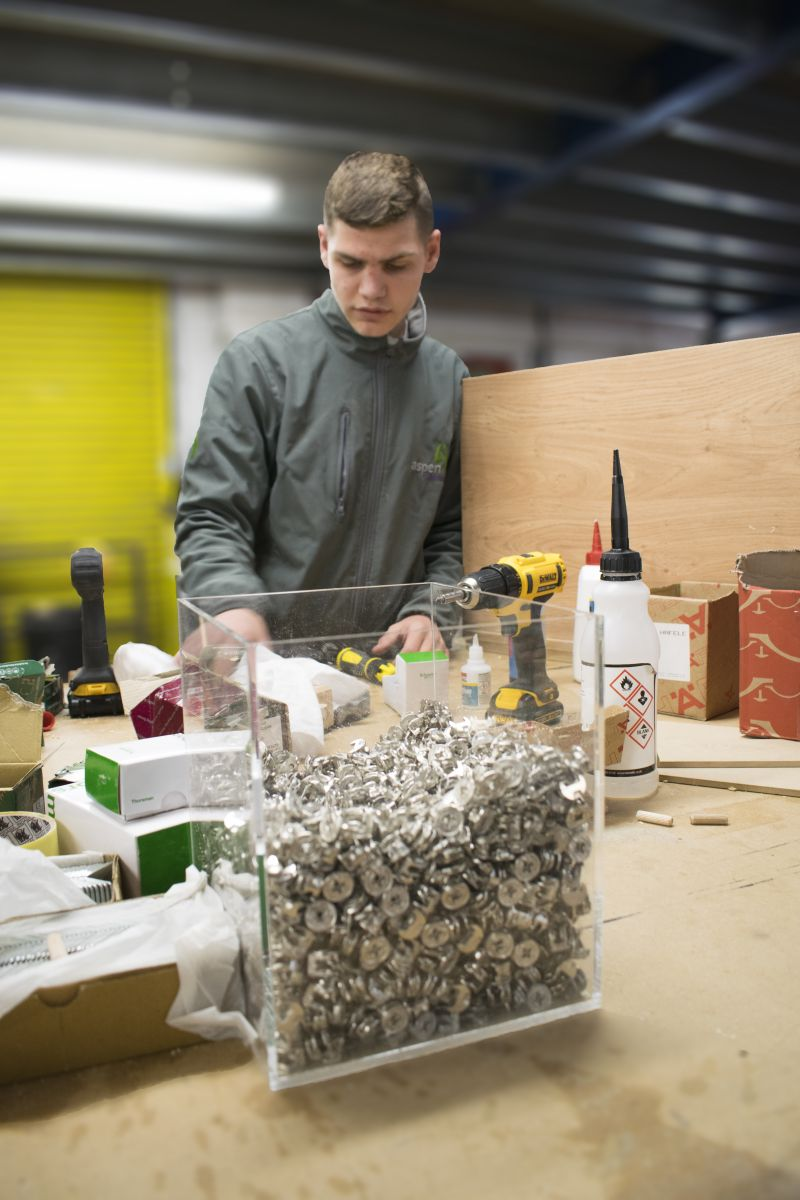 Aspen Concepts joinery apprentice