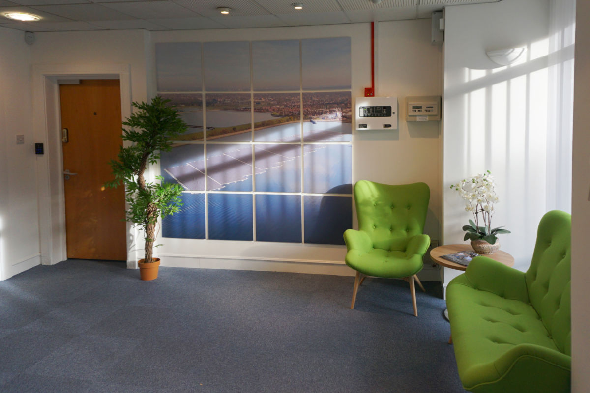 Lightsource reception fitted out by Aspen Concpets