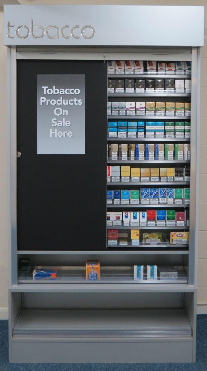 imperial tobacco cabinet manufactured by Aspen Concepts