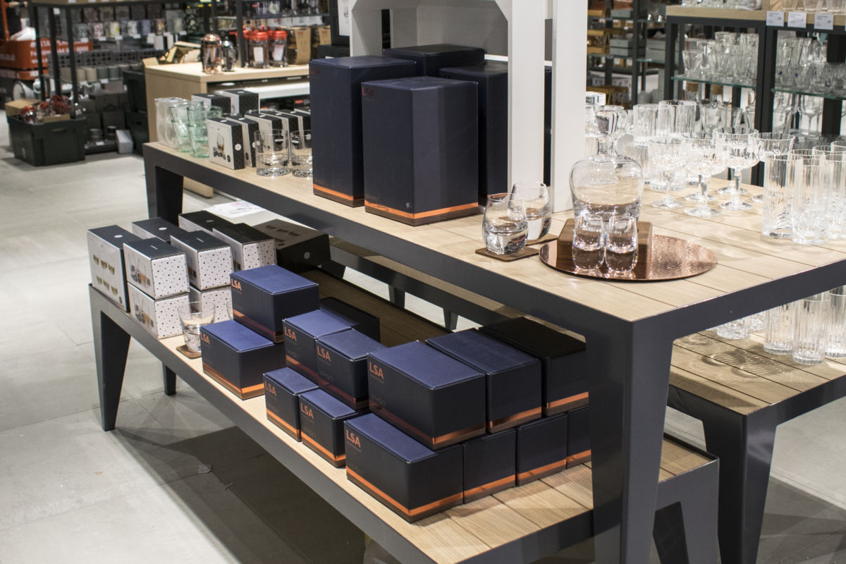 shop display tables