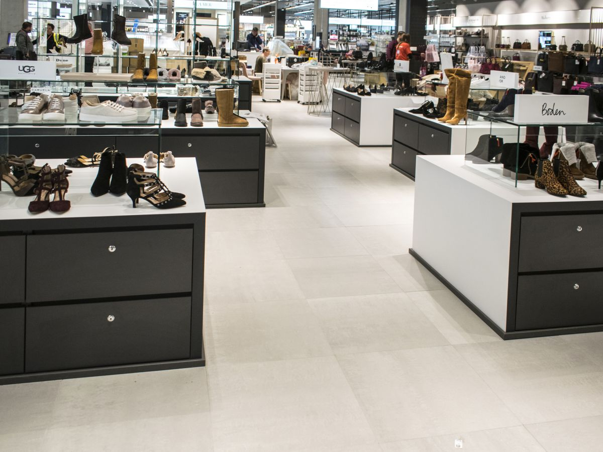 Aspen - John Lewis - Oxford - shoe department