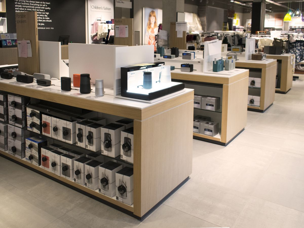 Aspen-John Lewis - Oxford - consumer electronics department