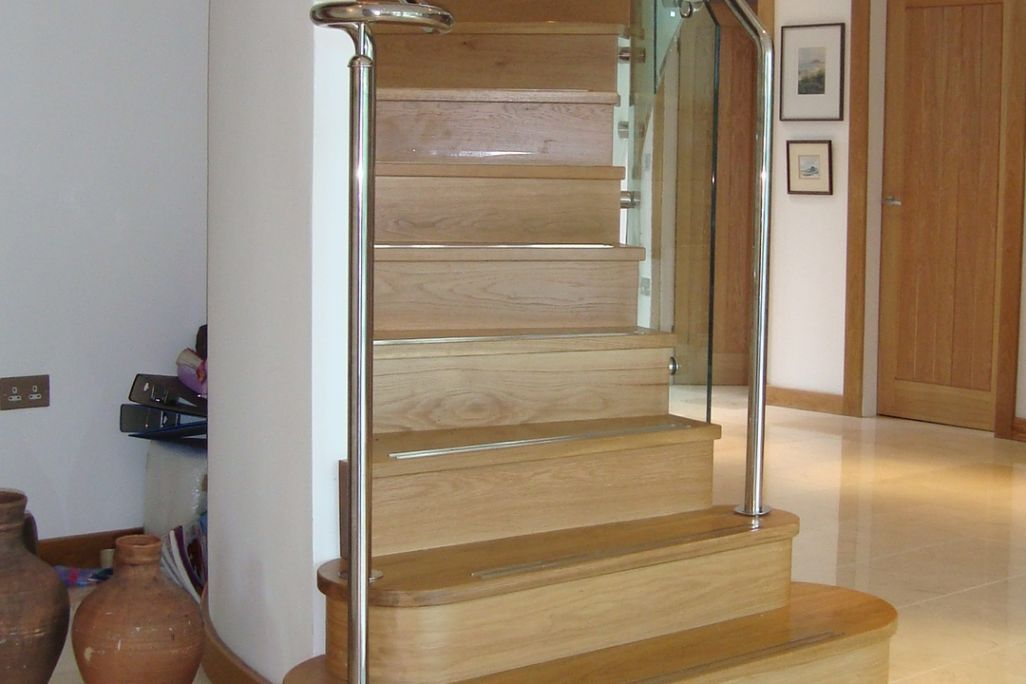 spiral staircase - bespoke joinery