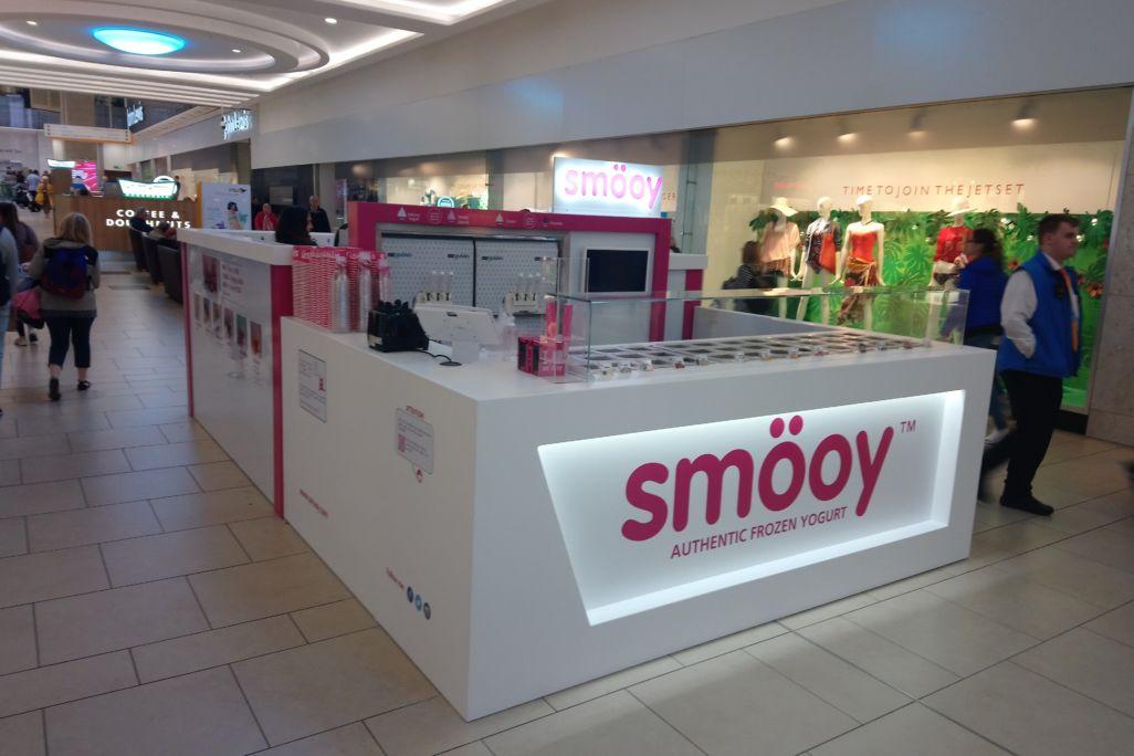Shopping Mall retail kiosk