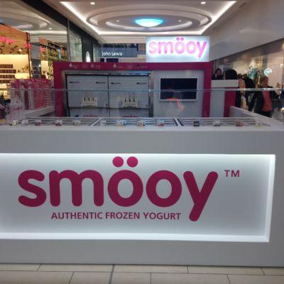 Smöoy retail kiosk