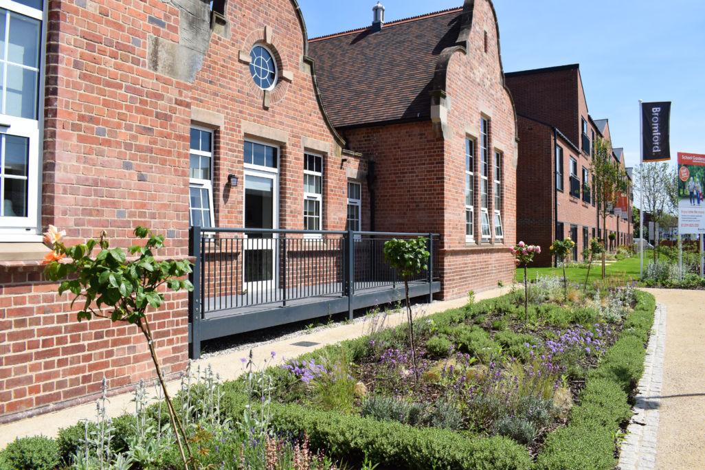 Bromford - School gardens 5 - gardens, stourport
