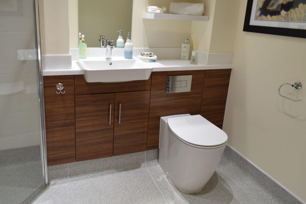 Bathroom vanity unit wood