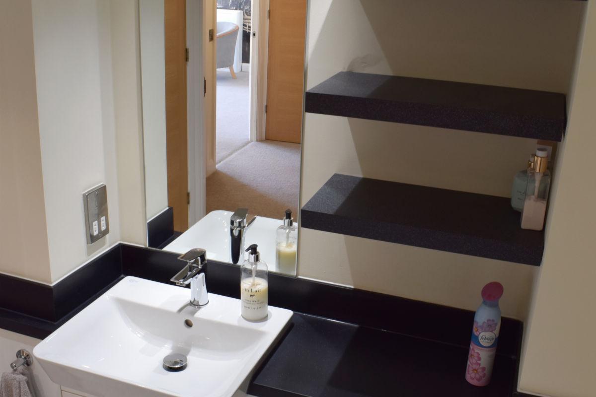 Bromford-white - bathroom vanity unit