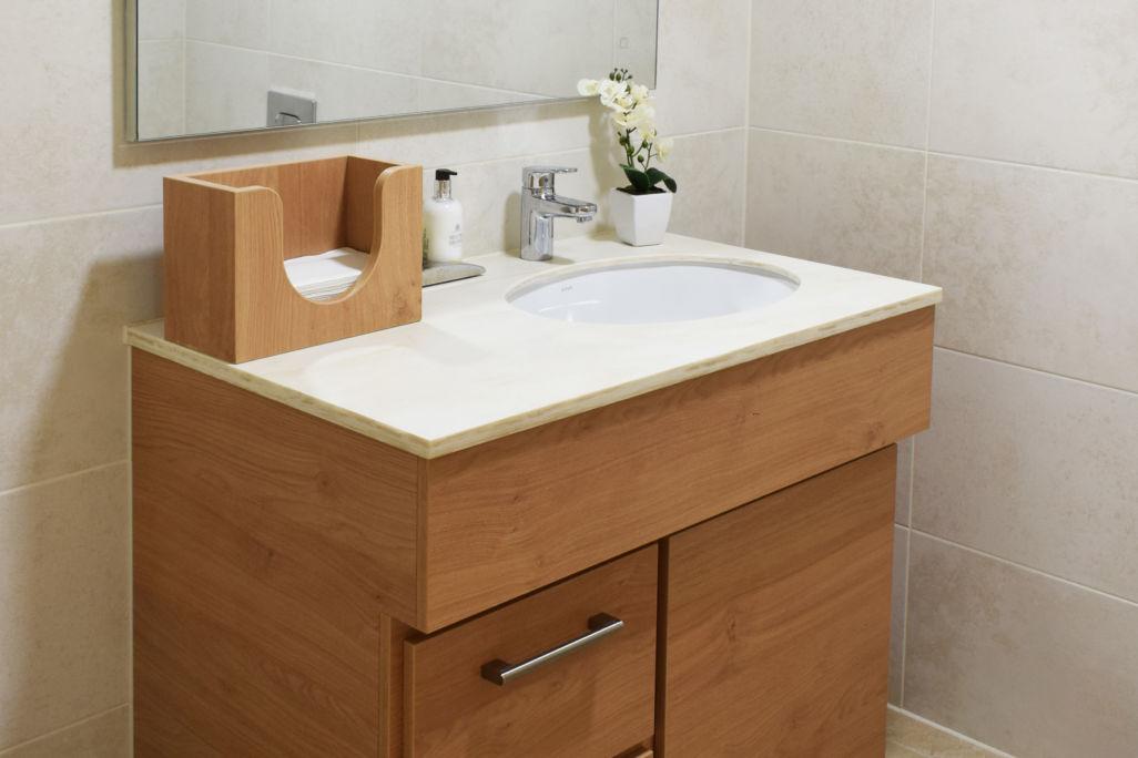 castle view retirement home Windsor - residence bathroom large vanity unit
