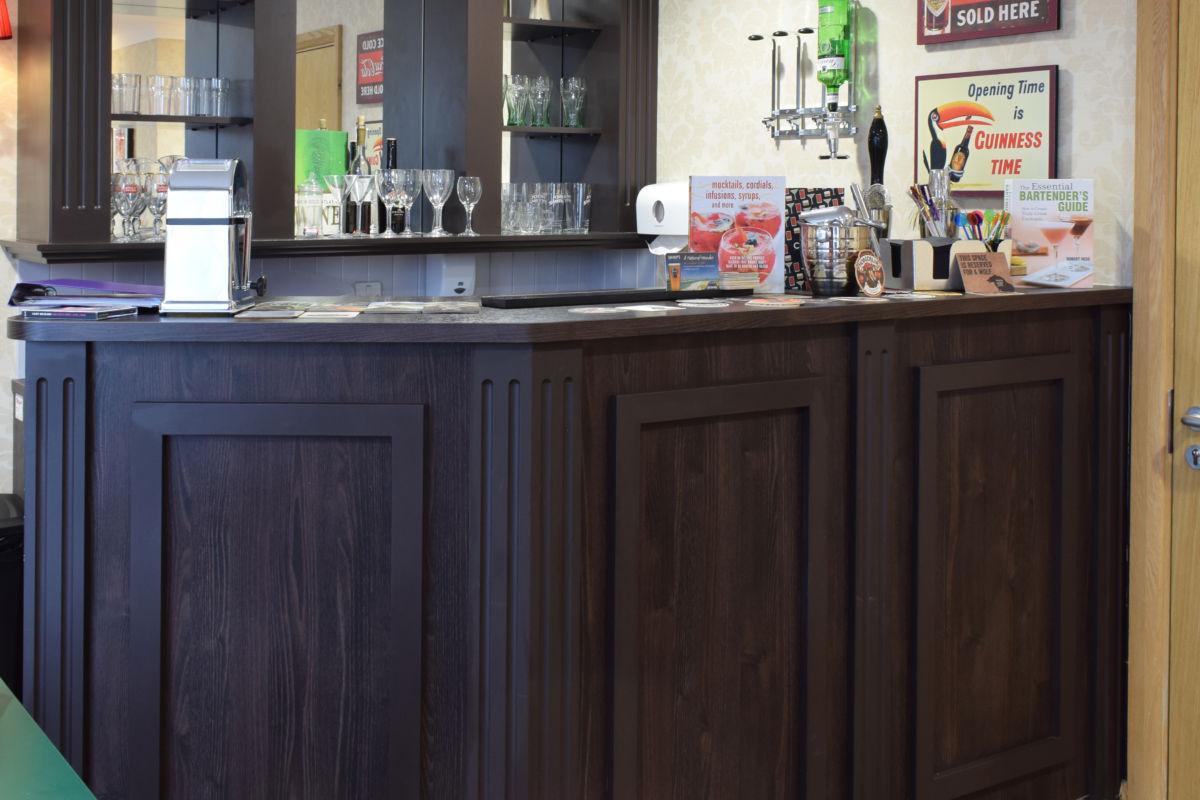 Mountbatten Grange care uk home residences bar
