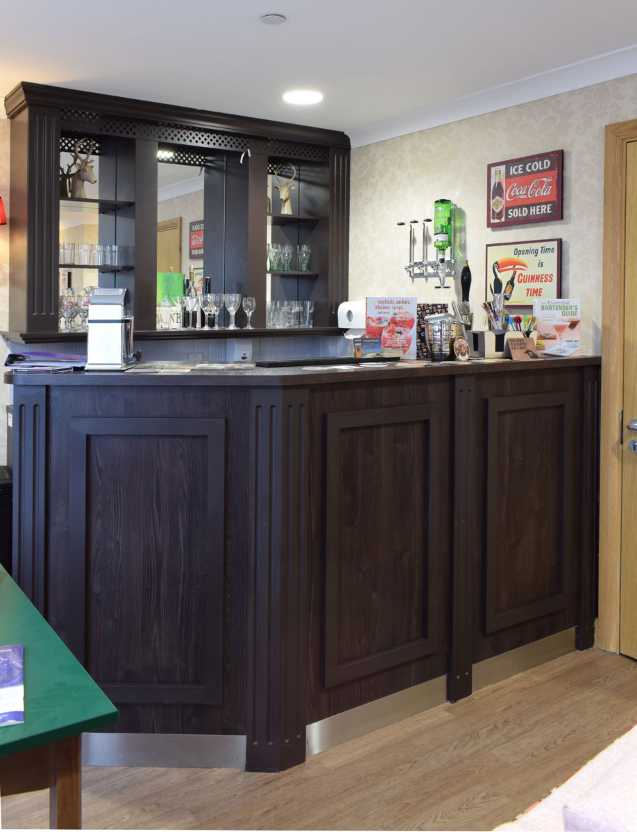 Mountbatten Grange care uk home residences bar