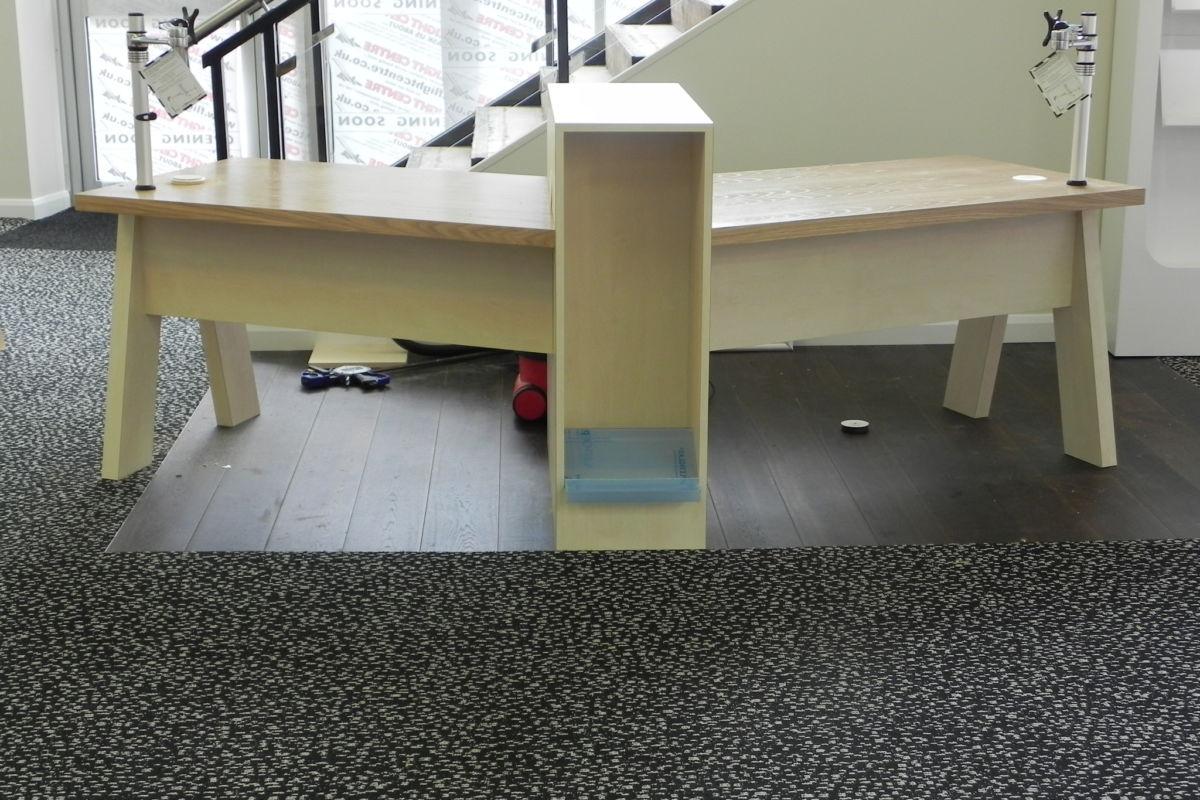 Bespoke Office - reception desk